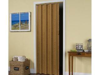 lTl Home Products MlB3680K Malibu Interior Accordion Folding Door  36  x 80  Oak