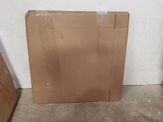 Boxes Fast BF30524FOl Side loading Corrugated Cardboard Shipping Boxes  30  x 5  x 24  for Mirrors and Artwork  Kraft  Pack of 10