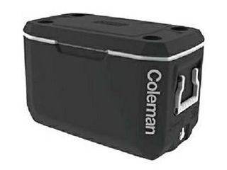 Coleman Xtreme 70 Qt Cooler Ice Chest  Black