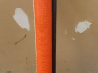 Kidkusion Inc  Retractable Driveway Guard  Adjustableup to 25  Orange