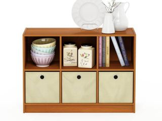 Furinno Basic 3x2 Bookcase Storage  light Cherry