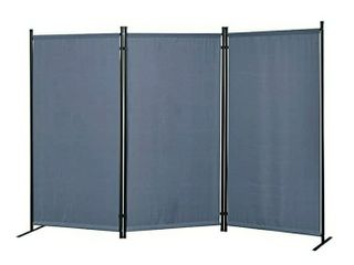 Proman Products Galaxy Outdoor Indoor Room Divider  3 Panel   Max Extends  102  W x 16  D x 71  H  Dimensions  Per Panel  34  W x 71  H