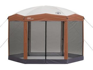 Coleman Portable Screened Canopy Sun Shade 12  x10  Tent W  Instant Setup