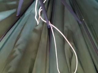 Aoxun 10ft Patio Offset Cantilever Umbrella   Outdoor with Crank  Crank String Is Not Connected    Cross Base for Garden  Deck Backyard and Pool  Green