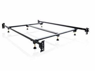 MAlOUF Structures STEElOCK Hook in Headboard Footboard Heavy Duty Steel Frame Metal Bed Rails  Twin Xl