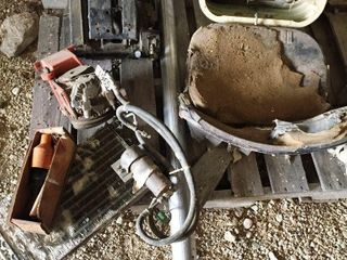 RADIATOR  COMPRESSOR  TRACTOR SEAT  EXHAUST PIPE