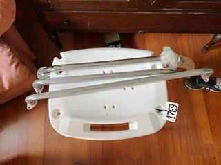 BATH SEAT   TUB RAIlS