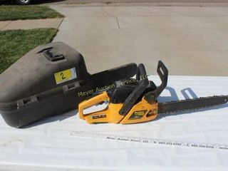 Poulan Pro 38cc Chain Saw & Case