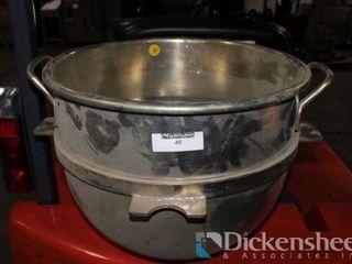 40 Quart Mixer Bowl as photographed