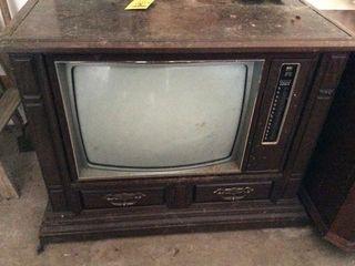 Console TV, adding machine & more