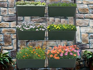 Kinbor 3 Tier Vertical Garden Planter With 6 Containers