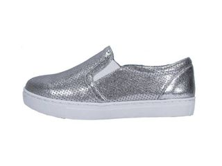 Women s Size 7 5 Metallic Fabric Shoes