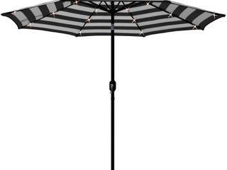 Maypex 9 Feet Solar led lighted Patio Umbrella  Retail 94 99