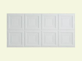 Fasade Panels Traditional 15 White Tiles