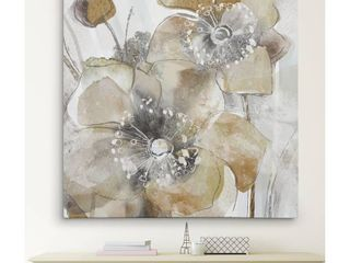 Wexford Home Taupe Spring Poppy II Wall Art