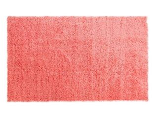 Jonathan Y Haze Solid Coral low Pile Area Rug
