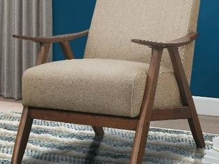 Parlier light Brown Accent Chair