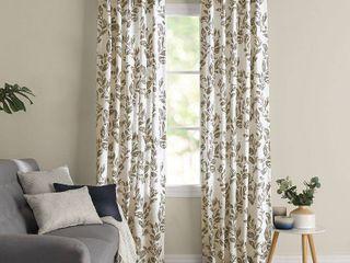 Corona Curtain 1 panel Oswald Back Tab Blackout Window Curtain  Beige Khaki 42X95