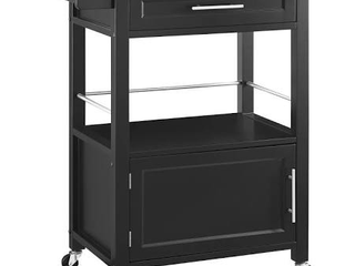 linon Mitchell Kitchen Cart with Granite Top  36 inches High