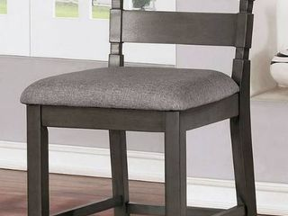 Counter Height Chairs in Grey