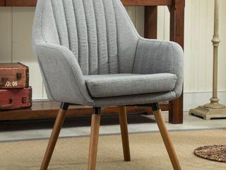 Roundhill Furniture Fabric Accent Chai