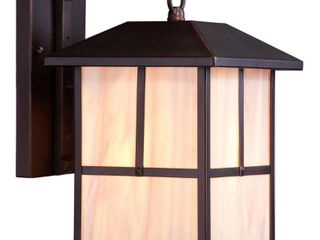 Nuvo lighting Tanner 8 375  Width 1 light Outdoor lantern Wall Sconce
