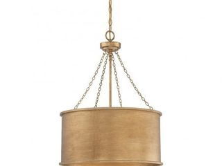 Savoy House Rochester 4 light Pendant in Gold Patina