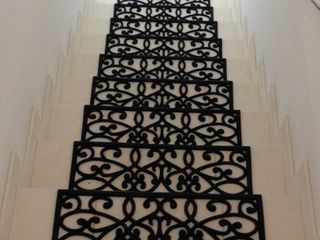 Rubber New Amsterdam Black Stair Treads