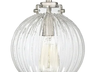 Dirigo Nickel 1 light Semi Flush Fixture