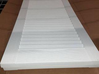 15 inch X 59 inch Standard Shutters  White  Pair