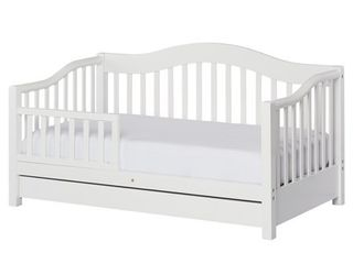 Dream on Me Toddler Day Bed with Storage  Multiple Finishes