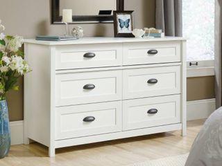 Sauder County line 6 Drawer Dresser
