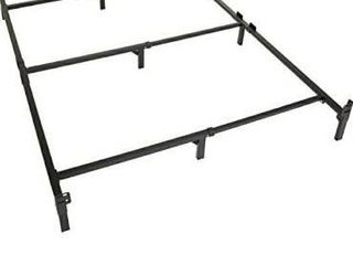 9 leg Support Metal Bed Frame Strong For Box Spring Mattress Set Full Size