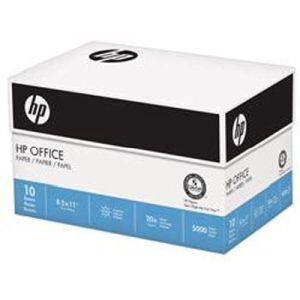 HP Everyday Copy and Print  20lb  8 1 2 x 11  92 Bright  5000 Sheets 10 Ream Case  200060C