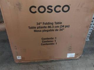 Cosco 34  Folding Table
