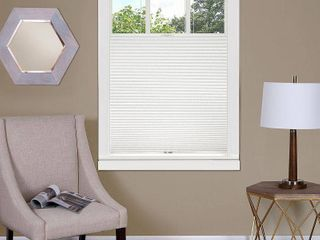 Top Down Cordless Honeycomb Cellular Shade 36x64 White