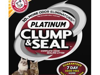 ARM   HAMMER Clump   Seal Platinum Cat litter  Multi Cat  40 lb