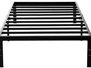 Noah Megatron 14 Inch Heavy Duty Twin Xl Size Metal Platform Bed Frame No Box Spring Needed Mattress Foundation