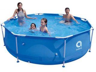 Avenli 12ft round steel Frame Pool 30  Deep