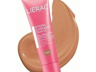 lierac Hydra chrono  Tinted Cream gel Moisturizing  Shade Golden 1oz