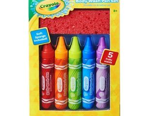 Crayola Bath And Body Gift Set   Trial Size   5 fl oz 5ct