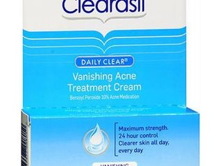 Clearasil Daily Clear Vanishing Acne Treatment Cream  1 Ounce  Pack of 3
