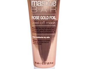 Unmasque Beauty Masque Bar Rose Gold Foil Peel Off Mask