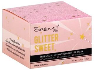 The Creme Shop Glitter Sweet   Intense Illumination Glitter Mask   3 17 oz