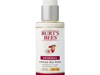 Burt s Bees Renewal Day lotion   SPF 30   2 oz