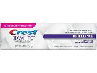 Crest 3D White Brilliance   Sodium Fluoride   PASTE  DENTIFRICE