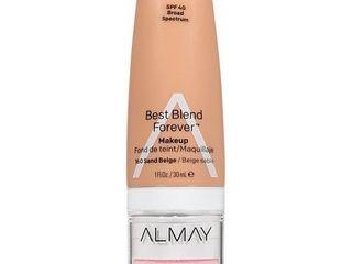 Almay My Best Blend Forever Makeup   Moisturizer 160 Sand Beige   1 fl oz