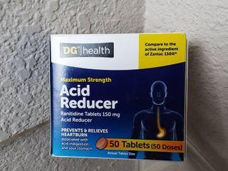 Maximum Strength Heartburn Acid Reducer 150 Mg 95 Tablets 10 2020
