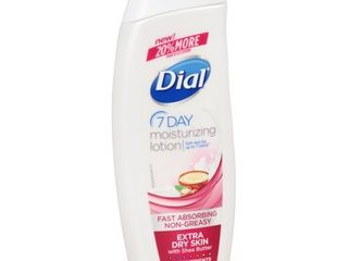 Dial Nutriskin Extra Dry Skin lotion With Shea Butter  12 oz
