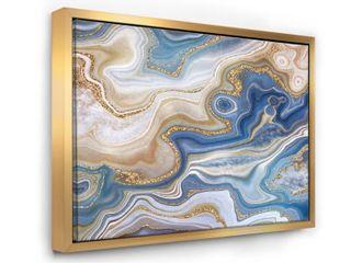 Designated Ocean Bkue Golden Jasper 12 x 20